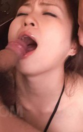 Nozomi Hatsuki Asian is fingered and gets vibrator and cum at end