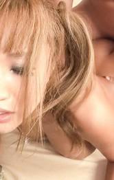 ブルンブルン爆乳Hカップ武藤クレアちゃんをおマンコチェックから指マン責め。生ハメ3Pで、爆乳を揺らせてイキまくり!