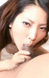 SAYA Asian doll sucks dicks and has love box in crazy bonking