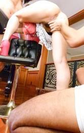 淫乱Dカップ美乳・Maikaちゃんが3Pファック。ご奉仕フェラから、Wフェラでバキューム。焼き鳥ファックで連続中出し!