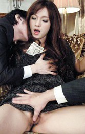 Mei Haruka Asian gets money to suck and receive cocks in beaver