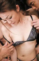 Sakura Hirota Asian has so much teasing in pussy from vibrators